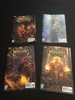 World of Warcraft: ASHBRINGER COMIC (2008 Series) All 4 Issues