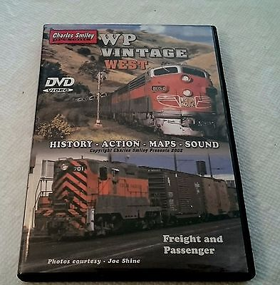 Charles Smiley Catenary Video WP Western Pacific Vintage West DVD