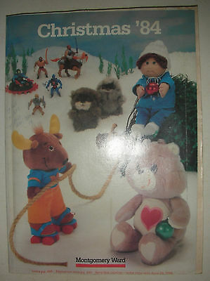 Vintage Montgomery Ward Catalog 84 Christmas Toys Fashion Home Decor Furnishings