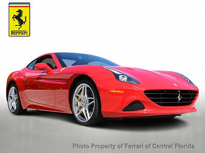 2015 Ferrari California 2dr Convertible CALIFORNIA T WITH HIGH MSRP $271K+ - MANY OPTIONS, VERY LOW MILES