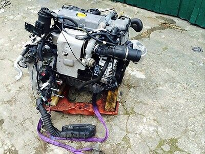 Vauxhall/Opel Vectra B/Astra 2.0 DTI X20DTL Complete Engine - Gearbox