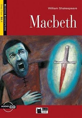 Macbeth. Con Cd Audio - 9788853008398 Shakespeare Black Cat-Cideb