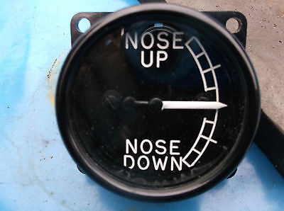 replica ww2 spitfire nose up down instrument ideal for panel