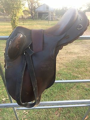 Syd hill Childs Stock Saddle