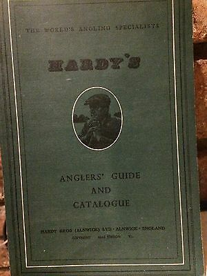 Hardy Angler's Guide & Catalogue 1954 and original Price List