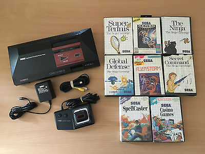 Sega Master System Console Pack with 10 Games & Controller
