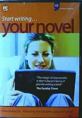 Start Writing Your Novel - New Novelist PC CDROM - Creativity Software
