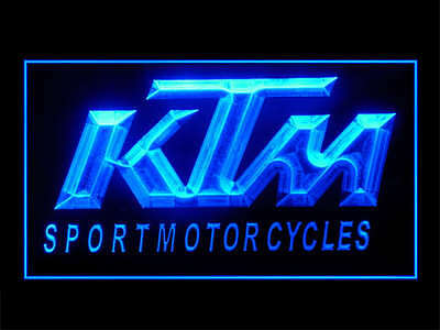 J345B KTM Motorcycles For Repair Center Display Décor Light Sign