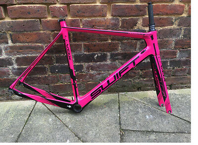 a9d98bdb6f8 SWIFTCARBON ULTRAVOX TI Magenta Road Bike Frame Set - £749.00 ...