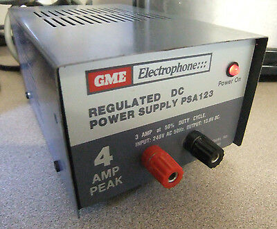 Vintage Regulated Power Supply, Gme