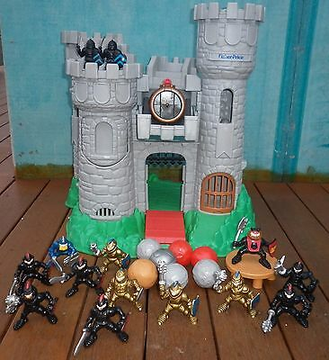 Vintage Fisher Price Medieval Castle & Knights Toys