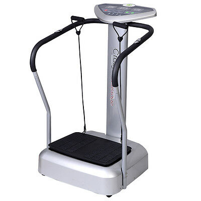 Crazy Oscillating Fit Massage Machine Vibration Vibro Exercise Fitness Plate New