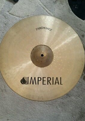 "Imperial 18"" throwback crash cymbal"