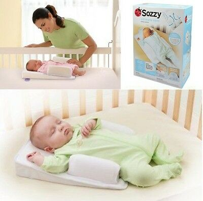 Brand New Newborn Baby Infant Sleep Positioner Reduce SIDS Help Digestion Pillow