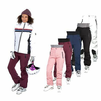 Trespass Amaura Waterproof Comfort Stretch Womens Ski Pants Warm Salopettes