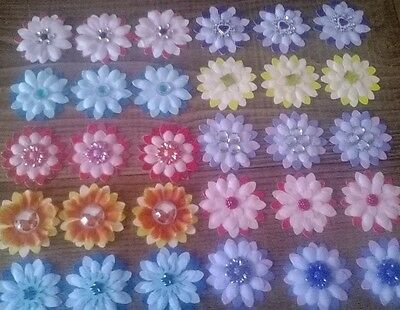 30 flowers for card/craft making.