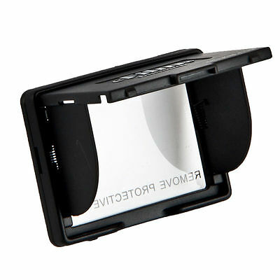 "Delkin 3.0"" Digital Camera Pop-Up LCD Screen Sun Shade Hood & Protector - Black"