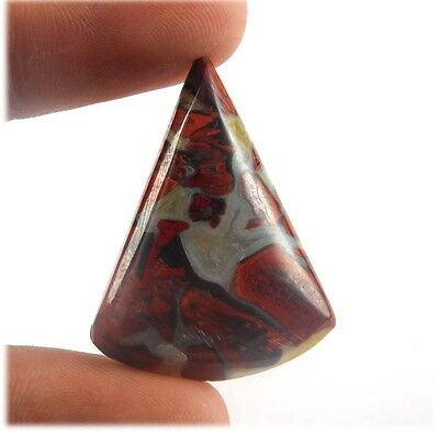 31 Cts  Designer 100% Natural Blood Stone 32X25  Loose Cabochon Gemstone