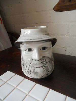china toby jug with R C to the base 4.50 x 5.25 inch of sea captain