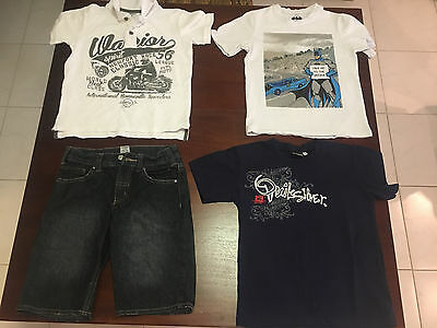 Lot of 8 off Boys Clothes Size 8