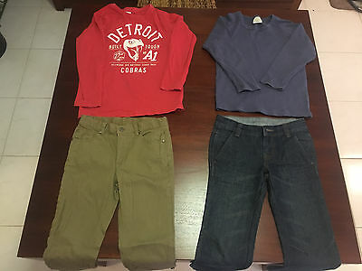 Lot of 5 off Boys Clothes Size 8