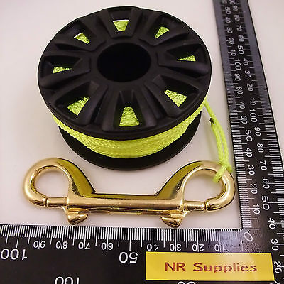 Finger Reel, 100ft, 30meter, SMB reel, Backup reel. Pick from 3 colors of line.
