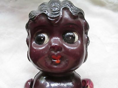 Vintage doll from celluloid/movable arms-little Girl/made in Japan