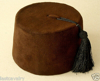 Ottoman sultan prayer Brown authentic Fez-Fes hat cap