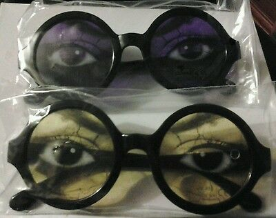 Strongbow eye glasses x1 yellow x1 purple new