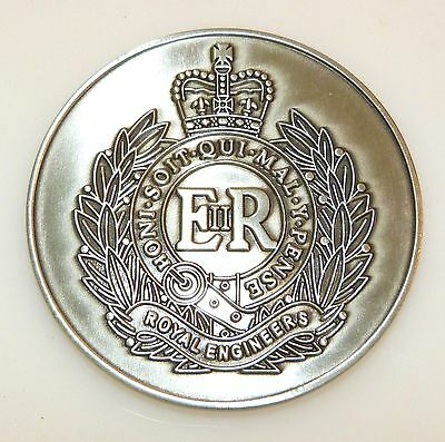 Royal Engineers / British Army Commemorative Coin