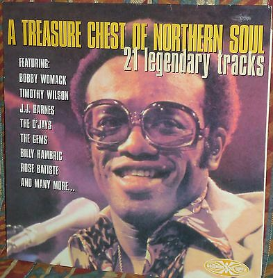 Northern Soul - A Treasure Chest Of Northern Soul - Goldmine LP