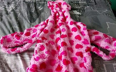 baby girl 6-12 months dressing gown primark