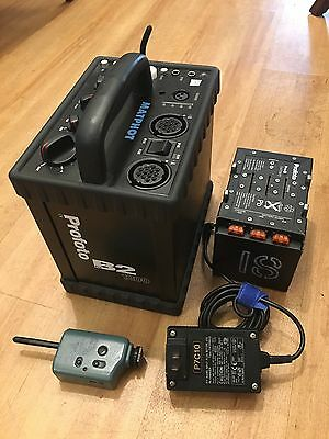 French Profoto Pro-B2 1200 WS Pack with Battery and Charger