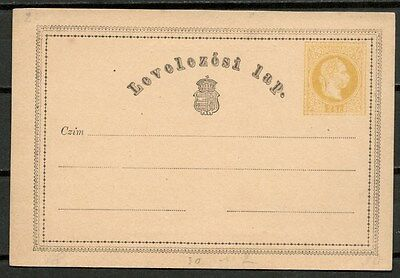 Austro Hungarian Empire Old Postal Stationery -Cag 041016