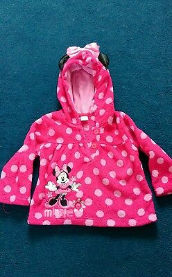 12-18 months girls minnie mouse hoodie