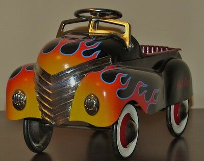 "Teleflora ""Hot Rod"" Pedal Car/Planter"