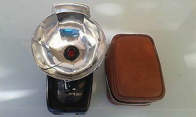 Vintage Agfa, Agfalux Flash, with case and manual.