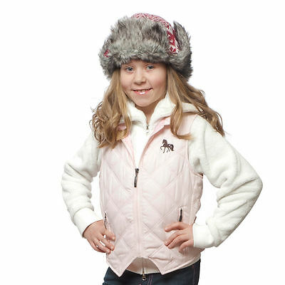 Horze Childrens Happy Go Lucky Quilted Vest | 134/140 | Light Pink