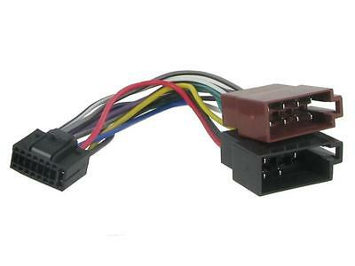 Replacement wiring harness Connects2 CT21KW01 for: Kenwood KDC KDC-BT CD player