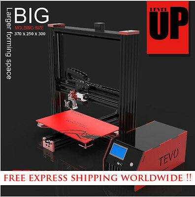 2016 Newest Tevo Black Widow 3D Printer DIY Kit includes BL Touch Auto Level