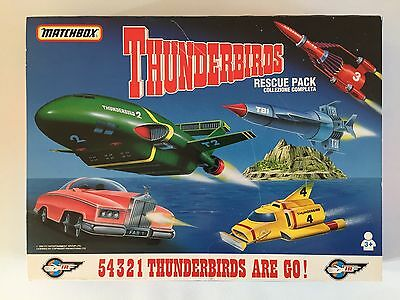Matchbox Thunderbirds Rescue Pack 1992 Itc Entertainment Group Boxed