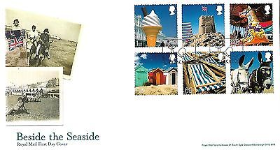 Gb 2007 Beside The Seaside Royal Mail Fdc With Blackpool Pmk