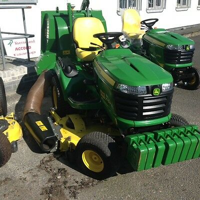 John Deere x750  With 580H collector Lawn Tractor, Ride on Mower, Garden Tractor