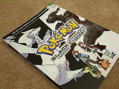 Official Pokemon Strategy Guide Black & White Versions Volume 1 Never Used