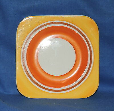 Hand Painted Art Deco Gray's Pottery Cake Plate