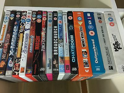 17 dvds including boxsets.