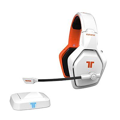 Tritton KATANA Wireless 7.1 HD Gaming Headset PS4 slim, PS 4, Xbox One, PC weiß