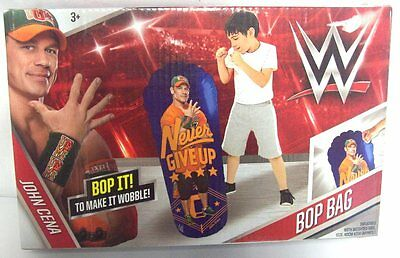 WWE Inflatable Blow Up Bop It Bag With Weighted Base 80cm Approx 3 Years +