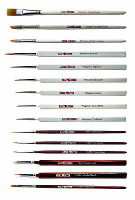 The Army Painter Brushes - Full range of Wargamer & Hobby Series
