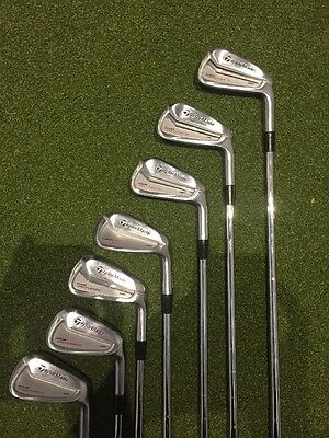 Taylormade Tour Preferred MC Irons, 4-PW, Kbs Stiff.